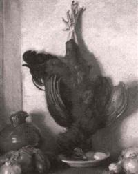 bodegon de gallo y hortalizas by rigoberto soler [perez]